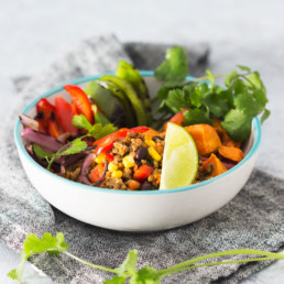 Naked Burrito Bowl - Deliciously Clean Eats - Dietitian Approved Ready Made Meals & Healthy Catering
