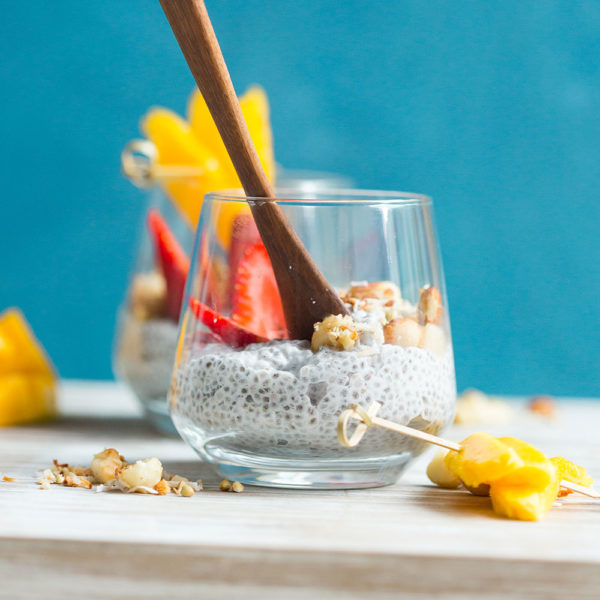 Summer Mango Chia Pudding