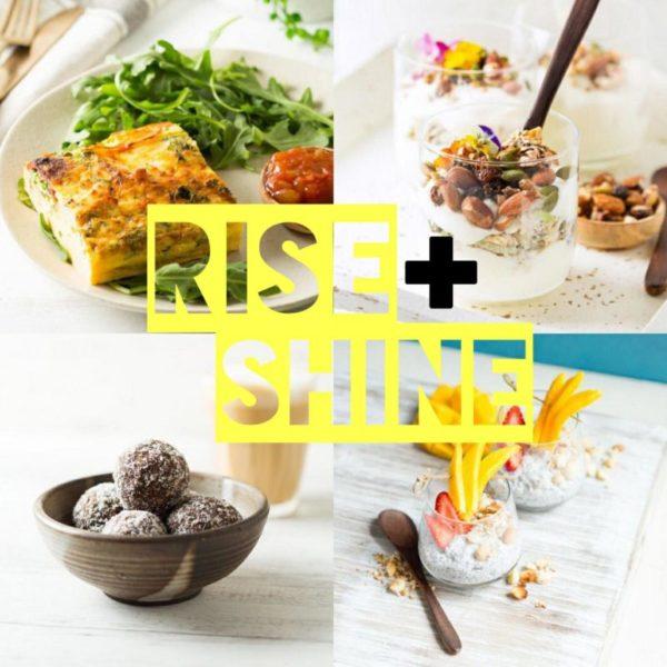 Rise + Shine Breakfast & Snacks Package 1