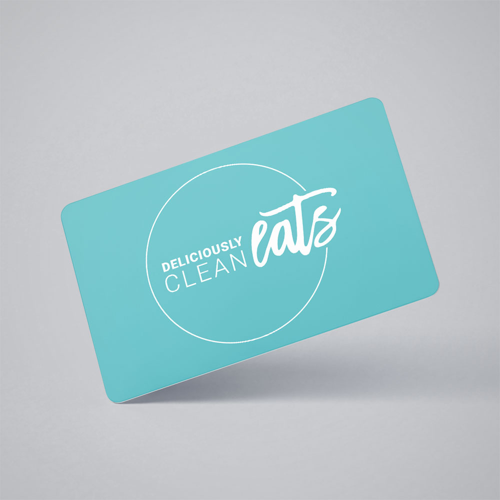 Deliciously Clean Eats - Gift Card
