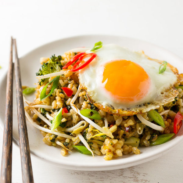 Eats for Kids - Nasi Goreng with Brown Rice 1